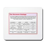 The Hormone Hostage Mousepad