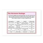 The Hormone Hostage Postcards (Package of 8)