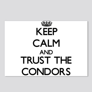 Keep calm and Trust the Condors Postcards (Package