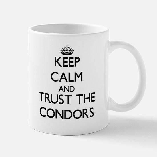Keep calm and Trust the Condors Mugs