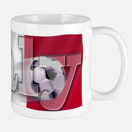 Soccer Flag Italy Mug