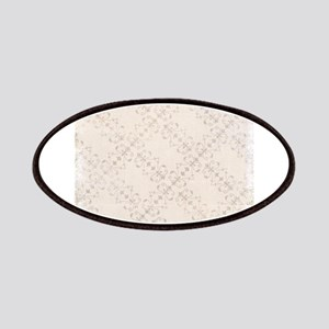 Ivory Antique Victorian Ornamental Pattern Patches