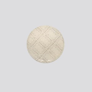 Ivory Antique Victorian Ornamental Pattern Mini Bu
