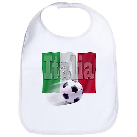 Soccer Flag Italia Bib