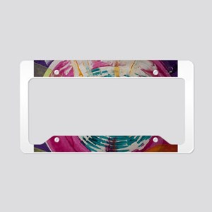 Art Therapy License Plate Holder