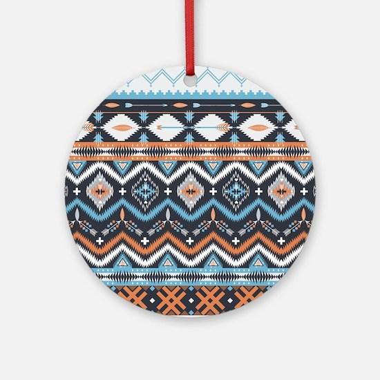 Native Pattern Ornament (Round)