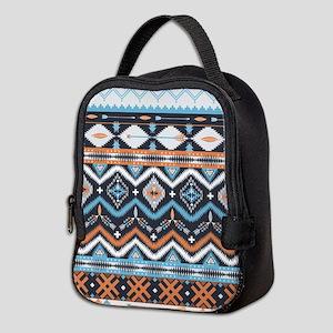 Native Pattern Neoprene Lunch Bag