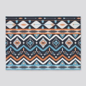 Native Pattern 5'x7'Area Rug