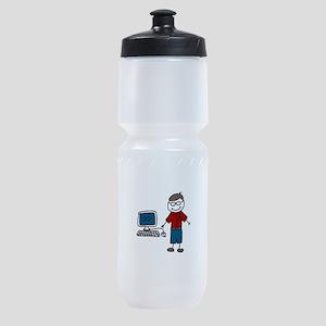 Computer Sports Bottle