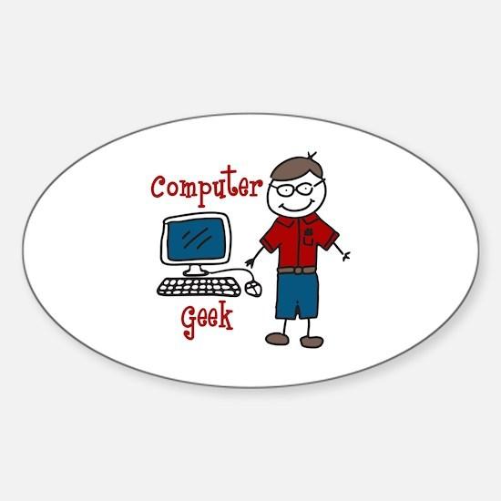 Computer Geek Decal