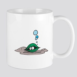 Cute Green Clam Mug