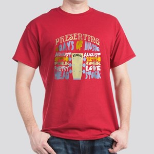 Sixties Music Festival Dark T-Shirt
