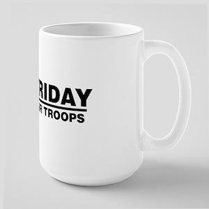 Red Friday Large Mug