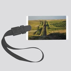 Road To The Sky Large Luggage Tag