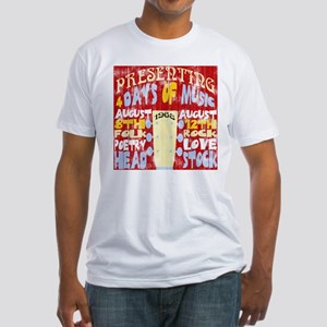 Worn Look 60's Festival Fitted T-Shirt