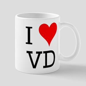 I Love VD Mug
