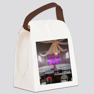 Preparing for a Concert Canvas Lunch Bag