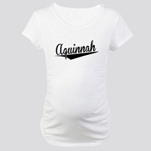 Aquinnah, Retro, Maternity T-Shirt