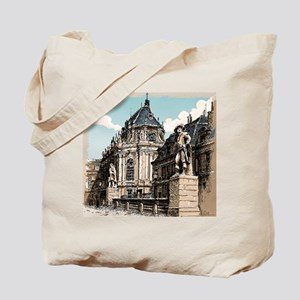 Vintage Hand Drawn View of Versailles Chapel Tote