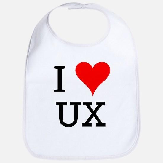 I Love UX Bib