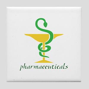 Pharmaceuticals Tile Coaster