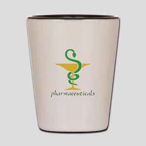 Pharmaceuticals Shot Glass