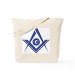 Modern Blue Lodge S&C Tote Bag