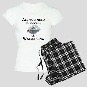 Love And Waterskiing Pajamas
