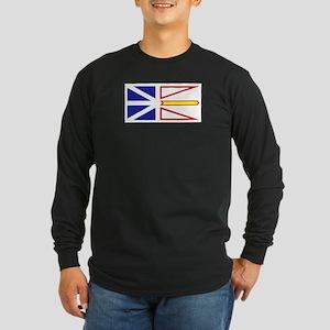 Newfoundland and Labrador Long Sleeve Dark T-Shirt