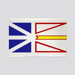 Newfoundland and Labrador Rectangle Magnet