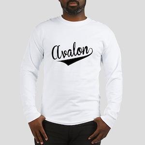 Avalon, Retro, Long Sleeve T-Shirt