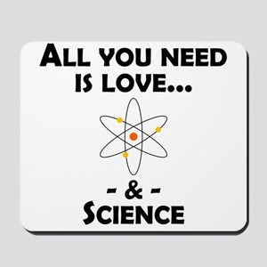 Love And Science Mousepad