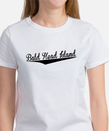 Bald Head Island, Retro, T-Shirt