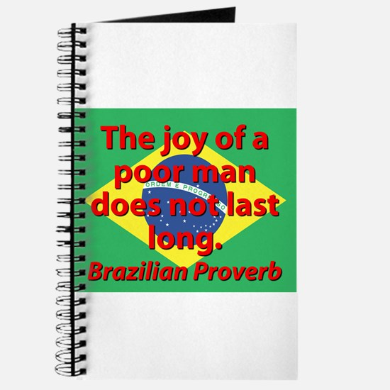 The Joy Of A Poor Man Journal