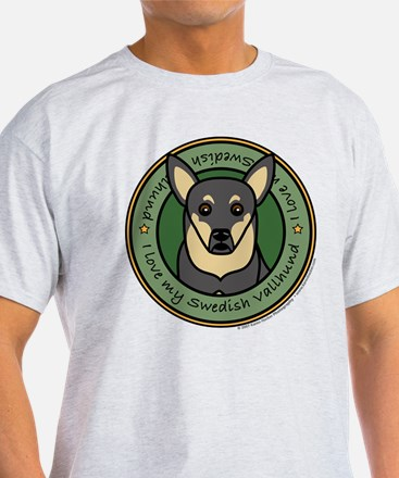 Love My Vallhund T-Shirt