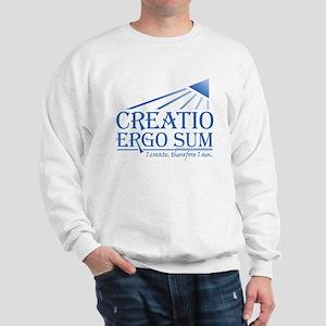 Creatio Ergo Sum Sweatshirt