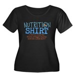 Nutrition Shirt Plus Size T-Shirt