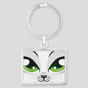 Meow Landscape Keychain