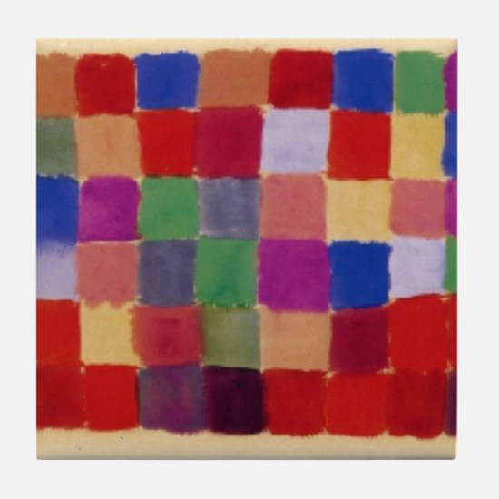 Klee - Harmony of Southern Flora Tile Coaster