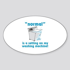 Normal is a setting on my washing machine! Sticker