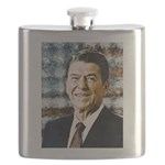 The Great President Ronald Reagan Flask