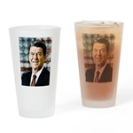 The Great President Ronald Reagan Drinking Glass