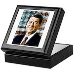 The Great President Ronald Reagan Keepsake Box
