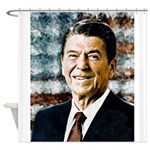 The Great President Ronald Reagan Shower Curtain