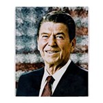 The Great President Ronald Reagan Throw Blanket