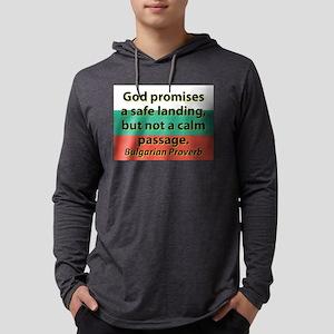 God Promises A Safe Landing Long Sleeve T-Shirt