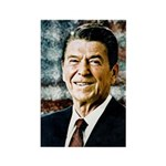 The Great President Ronald Reagan Magnets