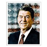 The Great President Ronald Reagan Posters