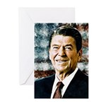 The Great President Ronald Reagan Greeting Cards
