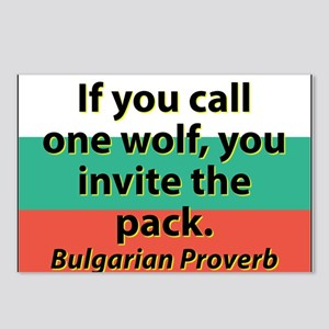 If You Call One Wolf Postcards (Package of 8)